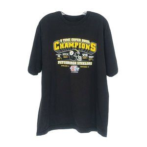 Reebok Pittsburgh Steelers 40th Anniversary Tshirt